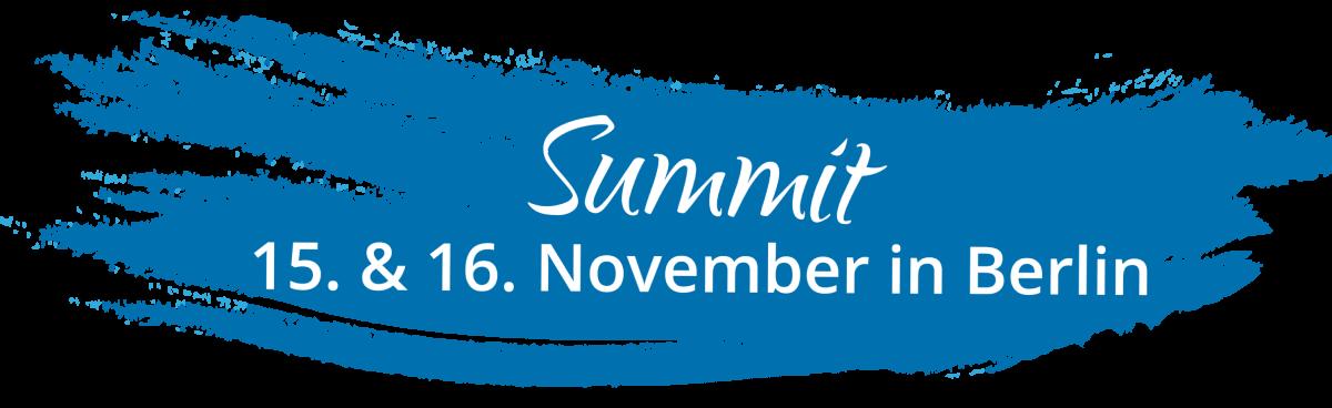 female.vision Summit am 15.&16. November